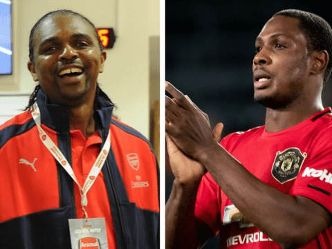 Odion Ighalo reveals class message from Arsenal legend Nwankwo Kanu after Manchester United move