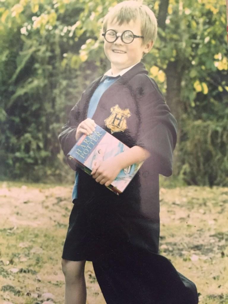 Harry Potter aged 6
