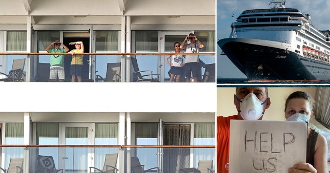 Brit among four dead on stranded cruise ship struck by coronavirus
