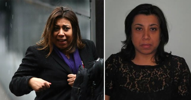 Farah Damji, 53, was jailed for five years in 2016 for stalking the engineer after he spurned her sexual advances when they met on an online dating site three years earlier.