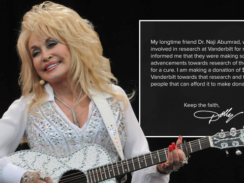 Dolly Parton donates $1million to fund coronavirus cure research