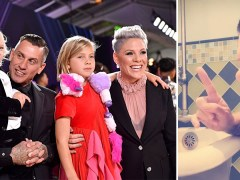 Coronavirus: Pink blesses us all with gospel song as she reveals quarantine life