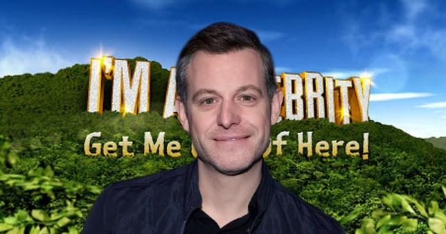 Matt Baker on I'm A Celebrity logo