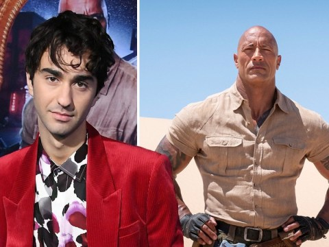 Jumanji's Alex Wolff delighted The Rock got chance to be the 'innocent and nerdy' man he is