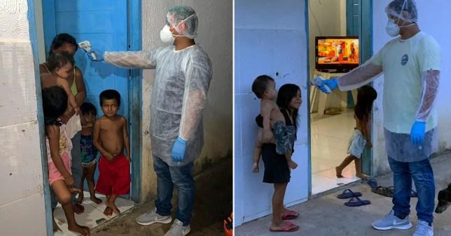 Coronavirus has reached the Amazon