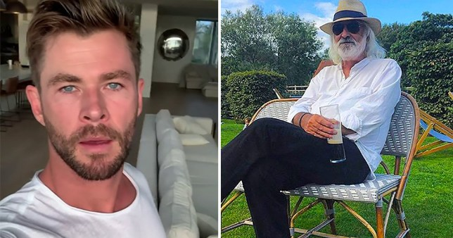 Chris Hemsworth call Andrew Jack a 'dear friend' in touching tribute