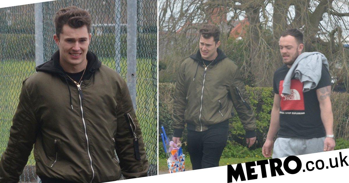 Curtis Pritchard buys badminton rackets during lockdown