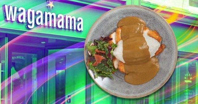 Wagamaa katsu curry at home