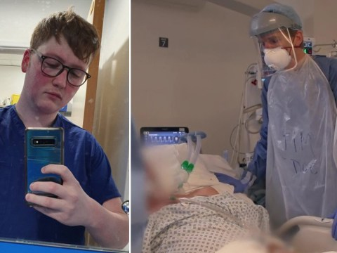 Intensive care nurse finishes gruelling shift only to be told his granddad had died