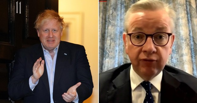 Boris Johnson in intensive care but not on ventilator, says Michael Gove
