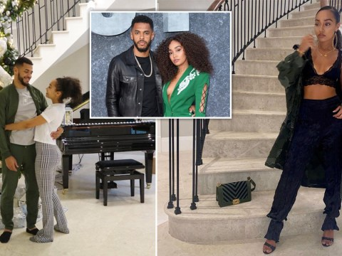 Inside Little Mix's Leigh-Anne Pinnock's beautiful Surrey mansion where she's self-isolating with boyfriend Andre Gray