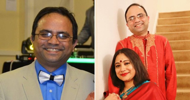 Abdul Mabud Chowdhury and his wife