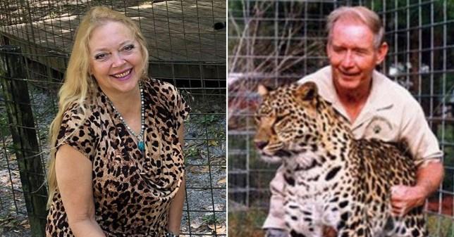 Carole Baskin and ex-husband Don Lewis