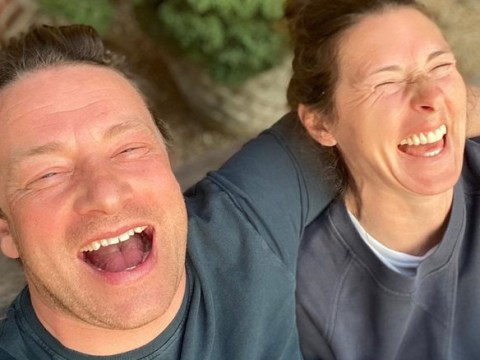 Jamie Oliver jokes wife Jools 'drives him up the wall' as they can't stop laughing in lockdown