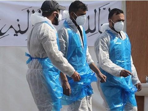 Mosque car park opens as temporary morgue for Muslim coronavirus victims