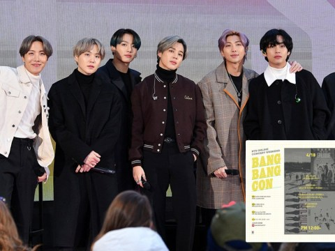 BTS announce online in-home concert series