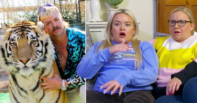 Joe Exotic from Tiger King and Gogglebox's Paige and Sally