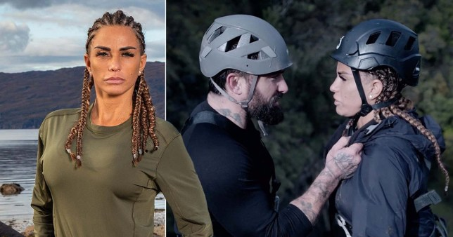 Katie Price \'let herself down\' on SAS: Who Dares Wins after having \'mentally difficult time\'