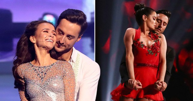 Dancing On Ice stars Alexander Demetriou and Carlotta Edwards ?take a break from their marriage\'