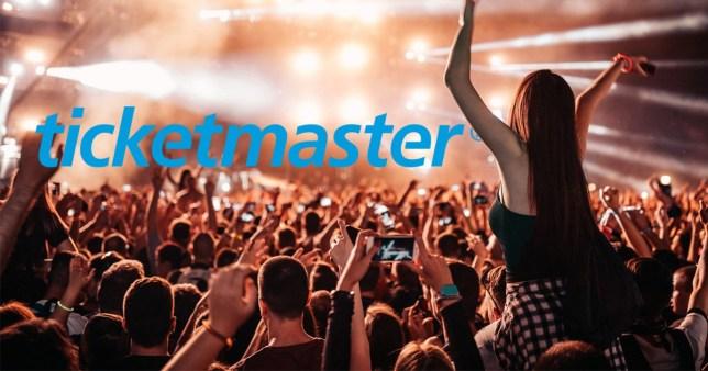 Ticketmaster comp