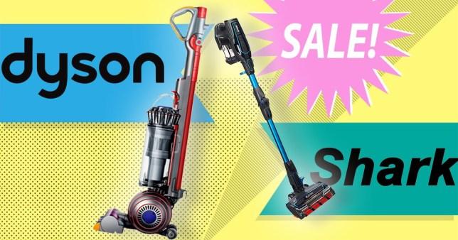 Dyson and Shark sale