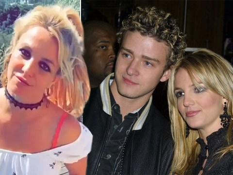 Britney Spears addresses Justin Timberlake breakup as she dances to his song – and he responds