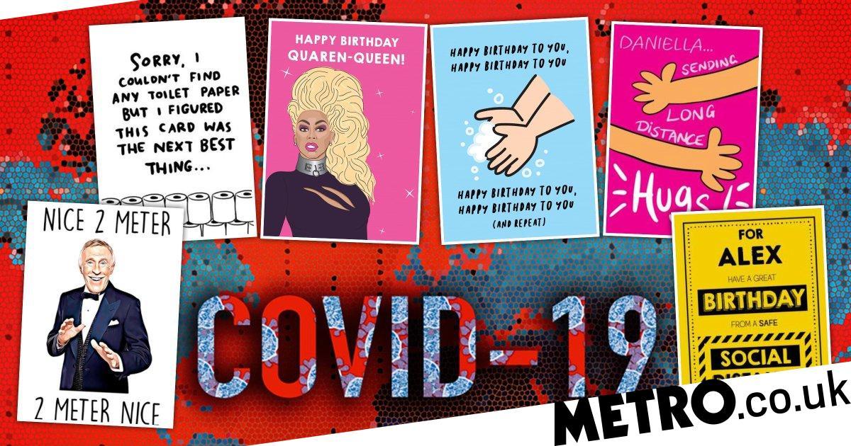 Coronavirus Uk Where To Get Birthday Cards During Lockdown Metro News