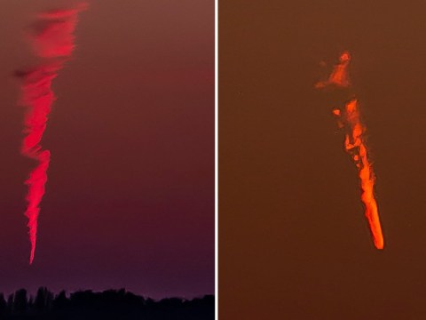 Was mystery flaming object seen above the UK related to the Lyrid meteor shower?