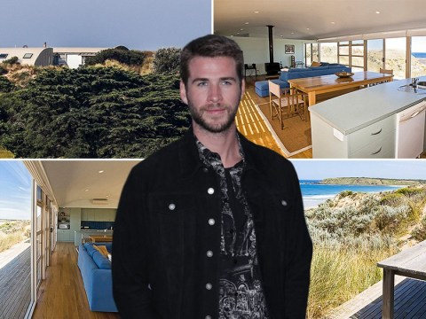 Inside Liam Hemsworth's stunning beach pad where he's isolating with girlfriend Gabriella Brooks