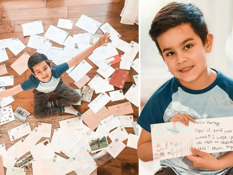 Little boy struggling with loneliness in lockdown asks for a pen pal and hundreds write to him
