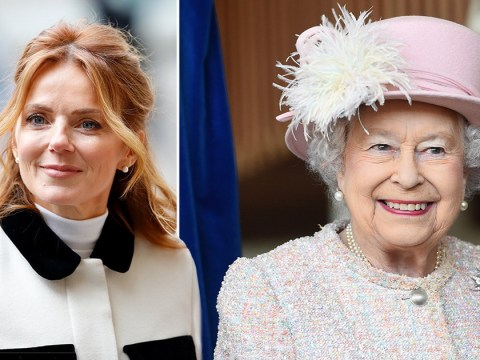 Geri Horner says the Queen is her role model and taught her that being silent is powerful