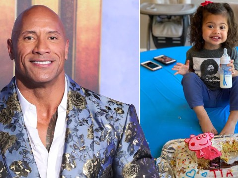 Dwayne Johnson pays tribute to his 'tornado of love' daughter on her 2nd birthday