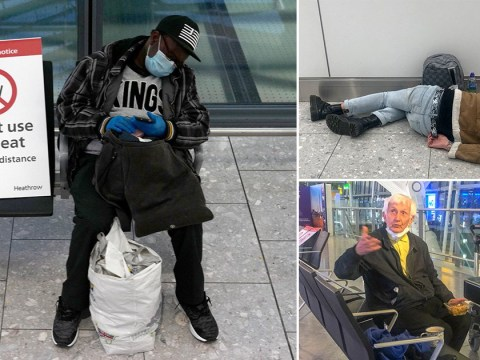 Former soldier, 85, among 30 homeless people living at Heathrow Airport