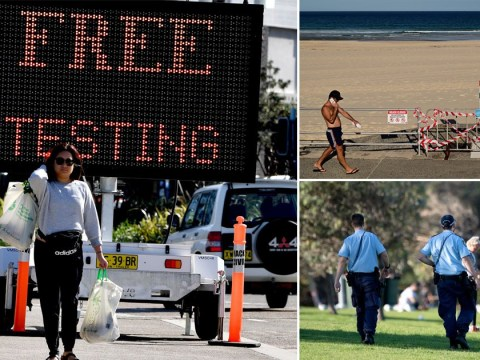 Just four new cases in a day in Australia after thousands of free tests are given out