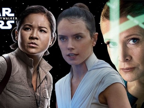 Disney Plus silence Rise of Skywalker backlash with girl power Star Wars spin-off series