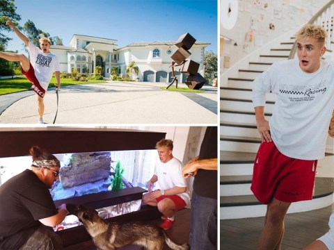 Inside Jake Paul's Team 10 mansion as YouTuber self-isolates in style