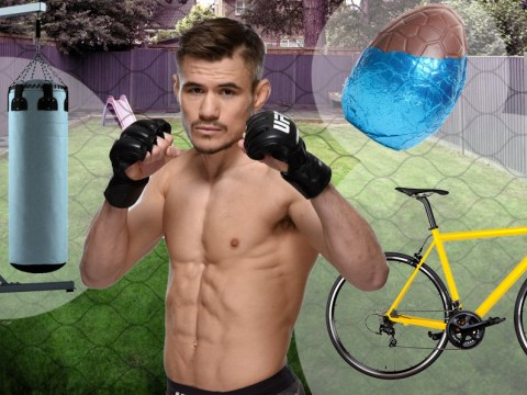 Nathaniel Wood: How does a UFC fighter keep in shape during lockdown?