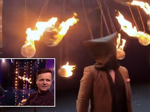 Britain's Got Talent 2020: Ant and Dec look on horrified after magician Kevin Quantum's act goes badly wrong