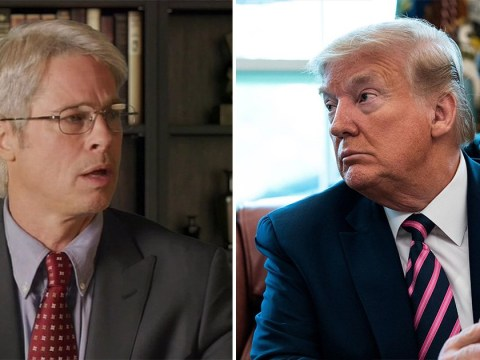 Brad Pitt turns into Dr. Anthony Fauci in attempt to debunk Donald Trump's coronavirus plan 'liberties'