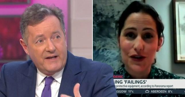 Piers Morgan and Victoria Atkins