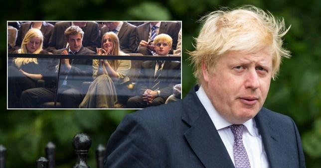 Caption: How many children does Boris have