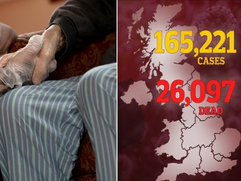 UK death toll jumps by 4,419 to 26,097 after care homes are included