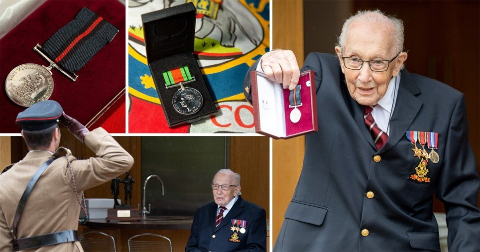 Captain Tom becomes Colonel Tom for his 100th birthday | Metro News