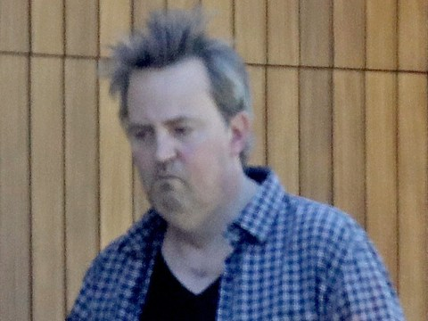 Matthew Perry takes break from 'nude eating' as Friends star emerges from quarantine