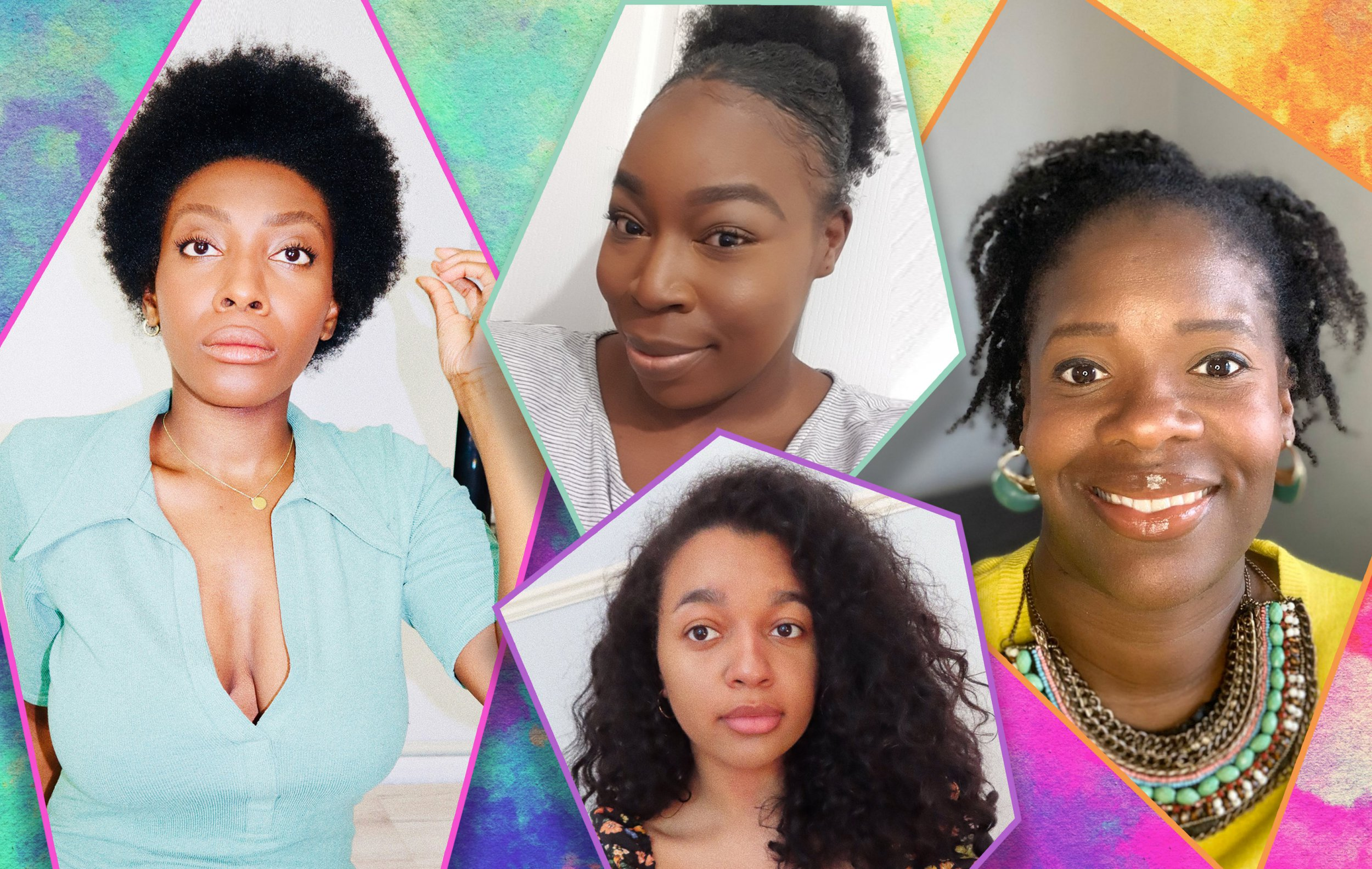 Meet The Black Women Who Are Transitioning To Natural Hair In