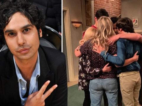 The Big Bang Theory's Kunal Nayyar shares emotional BTS throwback from final episode