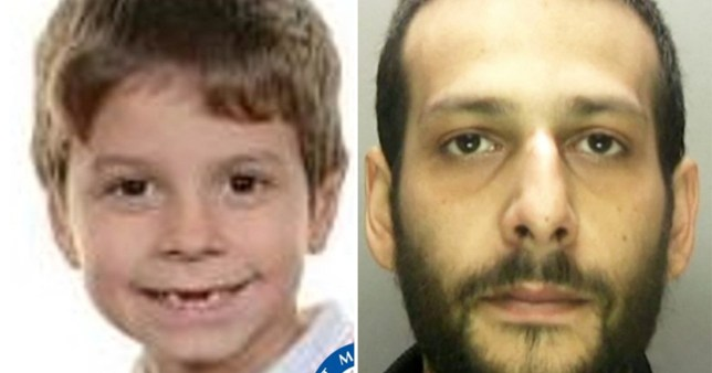 Police search for boy, seven, who went missing while shopping with dad