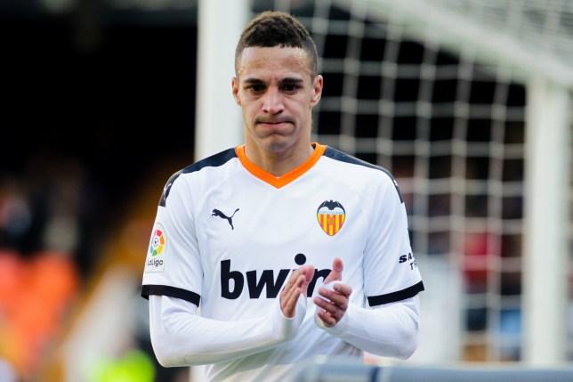 Valencia forward Rodrigo Moreno is on Arsenal's shortlist