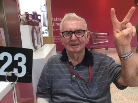 86-year-old burst into tears finding out weekly coffee meet-ups he's been having for 15 years are cancelled due to coronavirus