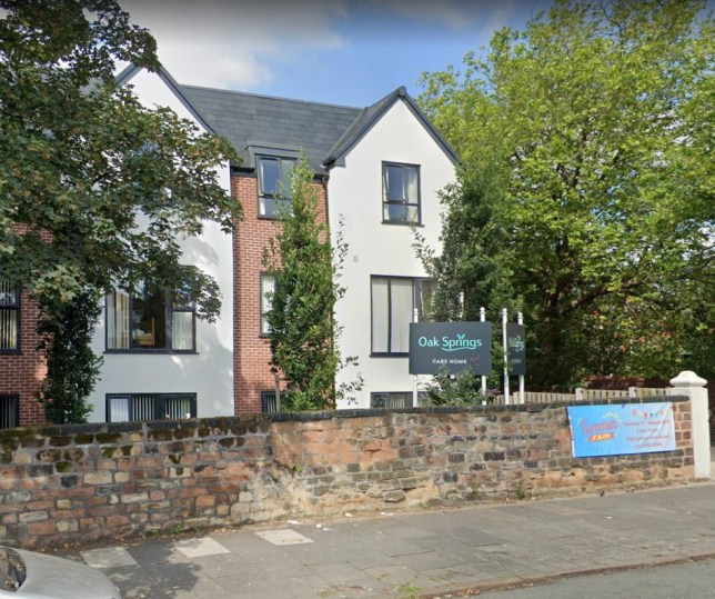 Bosses at Oak Springs care home in Wavertree say they are being overwhelmed by coronavirus Credit: Google